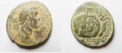 Ancient Coins - Samaria. Neapolis under Antoninus Pius (138-161 CE). AE 34mm, 16.95g.
