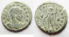 Ancient Coins - RARE CRISPUS AE 3 . AS FOUND