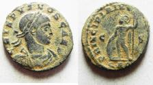 Ancient Coins - CRISPUS AE FOLLIS. ORIGINAL DESERT PATINA
