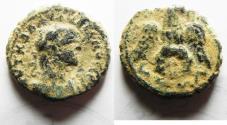 Ancient Coins - EGYPT. ALEXANDRIA. AE POTIN TETRADRACHM. ORIGINAL DESERT PATINA
