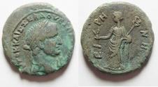 Ancient Coins - VESPASIAN AR Tetradrachm. Alexandria mint.  Eirene , Beautiful Portrait