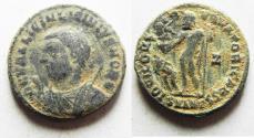 Ancient Coins - ORIGINAL DESERT PATINA. LICINIUS II AE FOLLIS