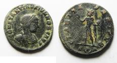 Ancient Coins - SCARCE CONSTANTINE II AE FOLLIS