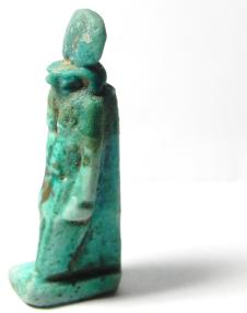 Ancient Coins - ANCIENT EGYPT , 600 - 300 B.C , FAIENCE AMULET OF HORUS , BEAUTIFULL !!!!!