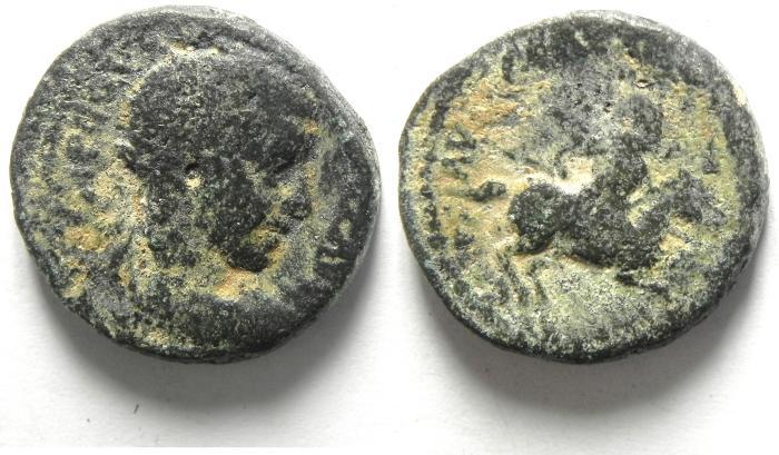 Ancient Coins - JUDAEA , CAESAREA , AE 22