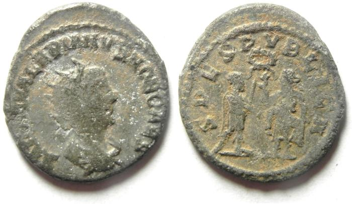Ancient Coins - VALERIAN II BILLON ANTONINIANUS