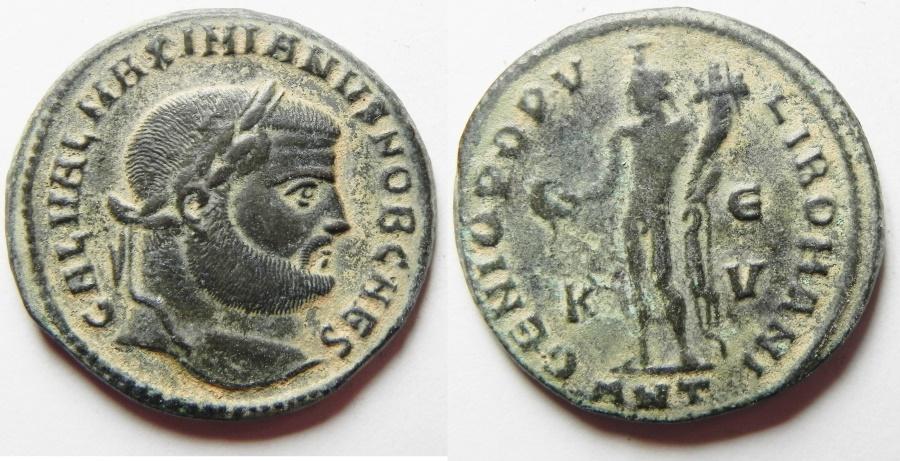 Ancient Coins - Maximianus. A.D. 286-305. Æ follis. Antioch