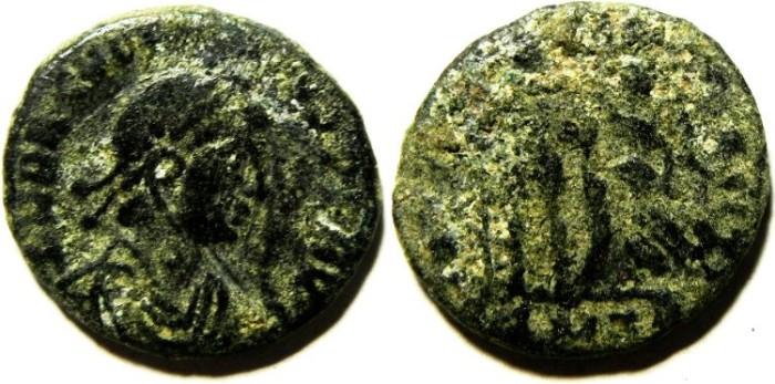 Ancient Coins - ROMAN AE 3 , AS FOUND