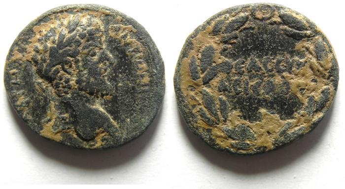 Ancient Coins - SYRIA, CYRRHESTICA, HIEROPOLIS, LUCIUS VERUS, 161-169 AD
