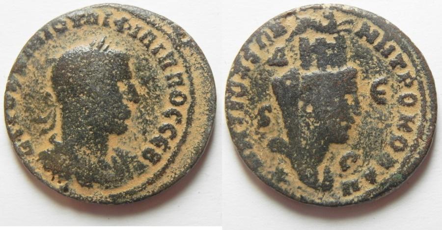 Ancient Coins - Philip I, Syria, Seleucia and Pieria, Antioch Æ29
