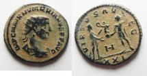 Ancient Coins - NUMERIAN AE ANTONINIANUS AS FOUND