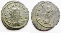Ancient Coins - CLAUDIUS SILVERED ANTONINIANUS
