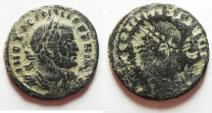 Ancient Coins - LICINIUS I AE FOLLIS - BROKAGE