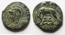 Ancient Coins - CONSTANTINE I AE 3 . COMMEMORATIVE. AS FOUND. NICE . ROME MINT
