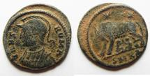 Ancient Coins - CONSTANTINE I AE 3 . COMMEMORATIVE ISSUE. AS FOUND