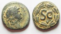 Ancient Coins - SYRIA. ANTIOCH. DOMITIAN AE 28