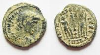 Ancient Coins - CONSTANTIAN AE 4 . AS FOUND