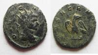 Ancient Coins - Divo Claudius II Gothicus billon antoninianus eagle standing