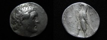 Ancient Coins - Ptolemaic kings. Ptolemy II Philadelphos (282-246 BC). AR tetradrachm. Gaza mint. Struck in regnal year 29 (257/6 BC).
