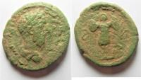 Ancient Coins -  Judaea. Aelia Capitolina under Marcus Aurelius (AD 161-180). AE 27mm, 13.95g.