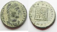 Ancient Coins - CONSTANTINE I AE 3 . DESERT PATINA. NICE