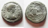 Ancient Coins - DECAPOLIS. DIUM. GETA, BEAUTIFUL DETAILS . AE 25