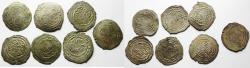 Ancient Coins - RASSIDS. Zaydí Imáms. Lot of 7 SILVER DERHIMS. 700 - 750 A.H