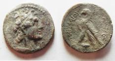Ancient Coins - PTOLEMAIC KINGDOM. PTOLEMY V OR VI SILVER DIDRACHM