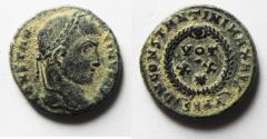 Ancient Coins - CONSTANTINE II AE 3 . NICE QUALITY