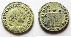 Ancient Coins - CHOICE AS FOUND. CONSTANTINE II AE 3