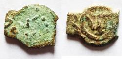 Ancient Coins - Judaea, Herod the Great, 37 - 4 B.C. AE prutah.