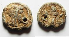 Ancient Coins - KYRENAICA, Kyrene. Circa 3RD CENT. B.C. LEAD TOKEN