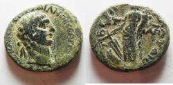 Ancient Coins - JUDAEA. GALILEE. TIBERIAS . TRAJAN AE 26