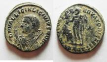 Ancient Coins - AS FOUND WITH NICE DESERT PATINA. LICINIUS II AE 3