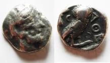 Ancient Coins - Attica. Athens. 393-295 BC. AR Tetradrachm. Affordable.