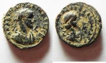 Ancient Coins - EGYPT. ALEXANDRIA. Aurelian and Vaballathus.  AD 270-271 . BI Tetradrachm.