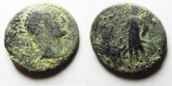 Ancient Coins - JUDAEA CAPTA. UNDER DOMITIAN AE 19