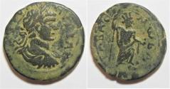 Ancient Coins - Arabia. Rabbathmoba under Geta (AD 209-211). AE 29mm