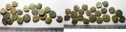 Ancient Coins - LOT OF 22 ANCIENT JUDAEAN AE PRUTOT