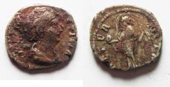 Ancient Coins - FAUSTINA SENIOR SILVER DENARIUS