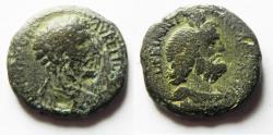 Ancient Coins - JUDAEA, Caesarea Maritima. MARCUS AURELIUS. AE 25