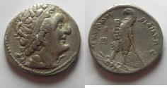 Ancient Coins -  Egypt. Ptolemaic kings. Ptolemy I Soter (305-258 BC). AR tetradrachm (26mm, 13.91g).Alexandria mint.