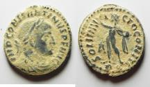 Ancient Coins - CONSTANTINE I THE GREAT AE FOLLIS. AS FOUND