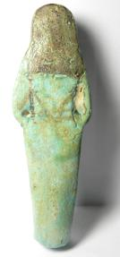 Ancient Coins - ANCIENT EGYPT , 19th - 20th Dynasty, 1295-1070 B.C , BEAUTIFULL FAIENCE USHABTI , PERFECT CONDITION