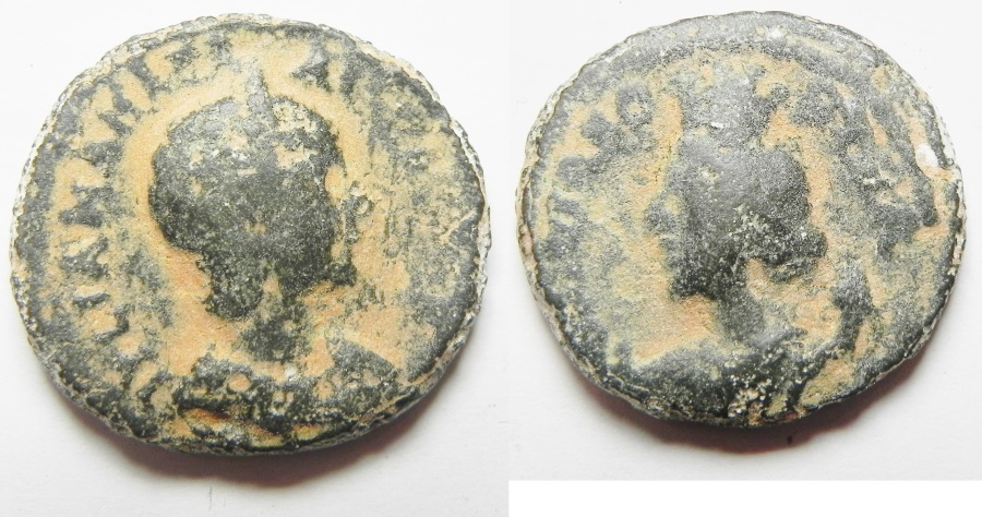 Ancient Coins - JULIA MAMAEA. DECAPOLIS. BOSTRA