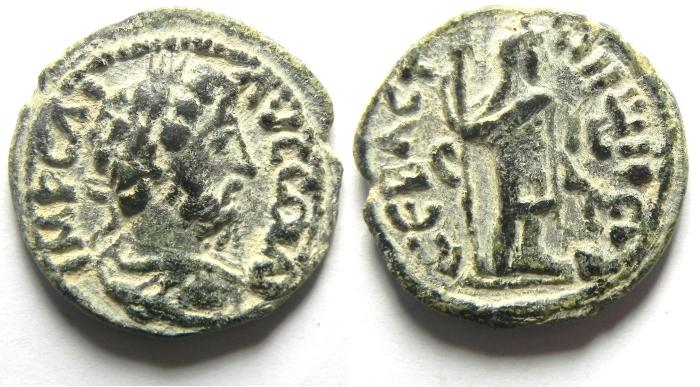Ancient Coins - JUDAEA, Sebaste. Commodus, AD 177-192, Æ 27mm , very high quality and very attractive!!!!