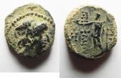 Ancient Coins - SELEUKID KINGDOM. ANTIOCHUS VIII. NICE QUALITY . AE 16
