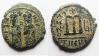 Ancient Coins - AS FOUND: Phocas 602-610, Follis, Antioch MINT