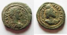 Ancient Coins - Decapolis. Philadelphia under Commodus, as Caesar (AD 166-177). AE 20mm, 5.8g.