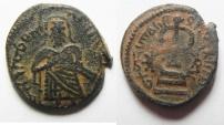 Ancient Coins - ARAB-BYZANTINE AE FILS. AMMAN MINT